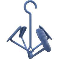 Mini Varal Para Calã§Ados- Azul- 31X28Cm- Flash Leuro Homeware