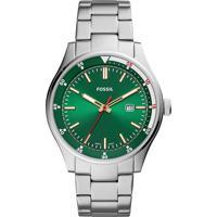 Relógio Analógico Fossil Masculino - Fs5533/1Kn Prateado