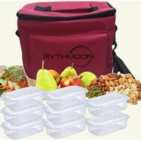 Kit Bolsa Térmica Tipo Keeppack Pink + 8 Refeições Rythmoon - Unissex