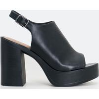 Sapato Feminino Meia Pata Satinato