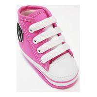 Sapatinho Para Bebê Tico'S Baby Star Cano Alto Pink