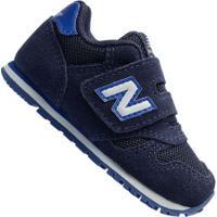 Tênis Para Bebê New Balance K373 Td - Infantil - Azul Escuro