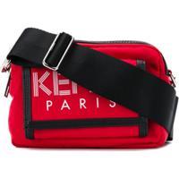 Kenzo Bolsa Tiracolo Sport - Vermelho