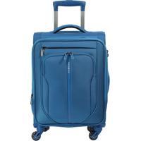 Mala De Viagem Patrono- Azul- 55,3X36X24,6Cm- Sasamsonite