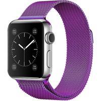 Pulseira Isd Loop Milanese Para Apple Watch 42Mm / 44Mm Roxo