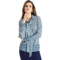 Blusas Femininas Com Babados Frente Gola - MuccaShop a0509d0462ce5