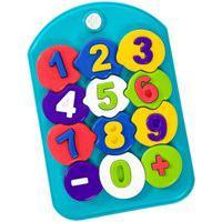 Puzzle Mania Números Didático Tateti Calesita Azul