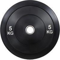 Anilha Olímpica Bumper Plate Para Musculação 5Kg Wct Fitness - Unissex