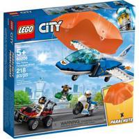 Lego City - Patrulha Aérea Com Paraquedas - 60208