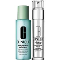 Clinique Anti-Idade + Loção Kit - Smart Custom Repair Eye Treatment + Clarifying Lotion Kit - Unissex-Incolor