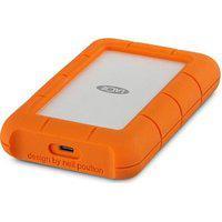 Hd Lacie Externo Rugged Mini, 4Tb, Usb 3.1-C, Clay Orange - Stfr4000800