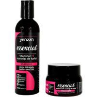 Kit Yenzah Essencial Shampoo + Máscara - Unissex-Incolor