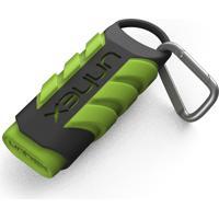 Estojo Sport 02 - Unhex - Cortador De Unhas P/ Mãos Mosquetão - Verde Limão