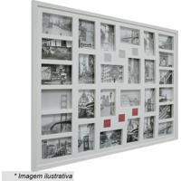 Painel Para 28 Fotos- Branco- 74X94X3Cm- Kaposkapos