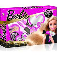 Barbie Hairstylist Penteados Com Acessórios De Beleza Material Plástico Indicado Para +3 Anos Rosa Multikids - Br814 - Padrão