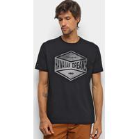 Camiseta Hd Watercolor Sha Masculina - Masculino-Preto