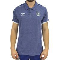 Camisa Polo Umbro Grêmio Viagem 2019