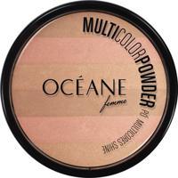 Océane Femme Pó Compacto Bronzer Shine - Feminino-Incolor