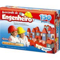 Brincando De Engenheiro 150 Pecas Xalingo
