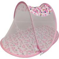 Mosquiteiro Berço Portátil Infantil Para Bebê Rosa
