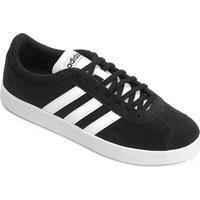 Tênis Adidas Court Masculino - Masculino-Preto+Branco