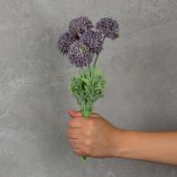 Flor Artificial Mini Dália Roxa