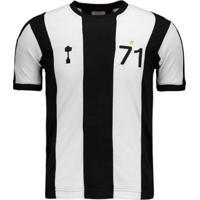 Netshoes  Camisa Retrômania Alvinegro Mg 1971 Masculina - Masculino 66af6724d43d7