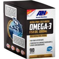 Omega-3 Fish Oil 1000Mg 90 Softgels Arnold Nutrition - Unissex