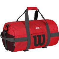 Bolsa Esportiva Com Tag- Vermelha & Preta- 20X20X20Cwilson