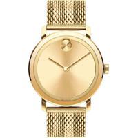 Relógio Movado Masculino Aço Dourado - 3600560
