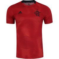 Camisa Pré-Jogo Do Flamengo 2019 Adidas - Masculina - Vermelho