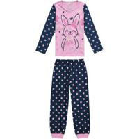 Pijama Rosa Claro Infantil Coelhinha