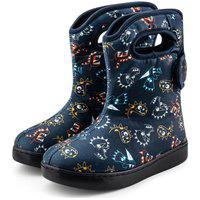 Bota Infantil Bibi Urban Boots Azul Com Estampa De Dinossauro - 1049069