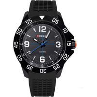 Relógio Curren Analógico 8181 Preto