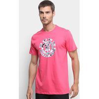 Camiseta Element Multi Icon Masculina - Masculino-Rosa