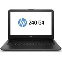 "Notebook Hp 240 G4 Tela Led 14"" Core I3 Memória 4Gb Hd 500Gb Windows 10 - Preto"