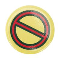 Oklyn No Gucci Symbol Badge - Amarelo