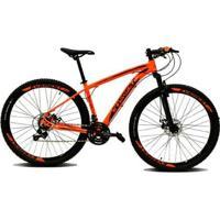 Bicicleta Aro 29 Storm - 27V Shimano Acera Traseiro - Freio Hiraulico - Suspensao Com Trava - Unissex