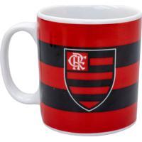 Caneca Minas De Presentes Porcelana Flamengo - Vermelho - Dafiti