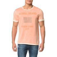 Camiseta Ckj Mc Bandeira Tachas - Gg