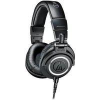 Fone De Ouvido Profissional Audio-Technica, Com Case, Preto - Ath-M50X