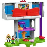 Playset Imaginext - Teens Titans - Dc Comics - Torre Dos Jovens Titãs - Fisher-Price - Masculino-Incolor