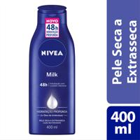 Hidratante Desodorante Nivea Milk 400Ml