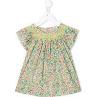 Bonpoint Blusa Com Estampa Floral - Verde