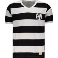 Camisa Xv De Piracicaba Retrô 1948 Masculina - Masculino-Branco