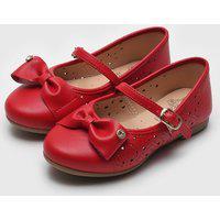 Sapatilha Kidy Infantil Bailarina Vermelha