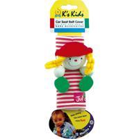 Julia Protetor De Cinto De Segurança Vermelho/Branco Ks Kids