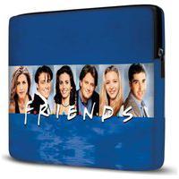 Capa Para Notebook Friends 15.6 À 17 Polegadas Com Bolso Azul