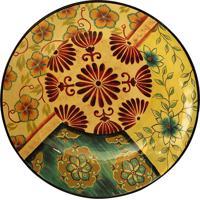 Prato De Parede Decorativo De Porcelana Menzel