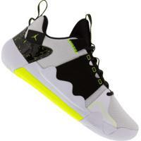 Tênis Nike Jordan Zoom Zero Gravity Pf - Masculino - Branco/Preto